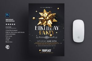 microsoft office invitation templates free download psd birthday party invitation