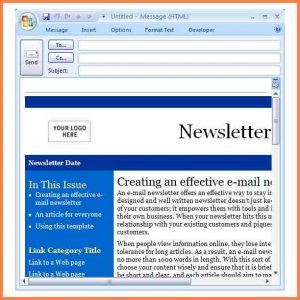 microsoft publisher newsletter templates newsletter templates for outlook microsoft outlook email newsletter templates