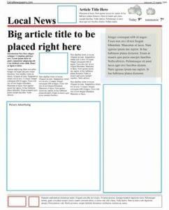 microsoft word newspaper template free microsoft word template extranewspapers com (page)