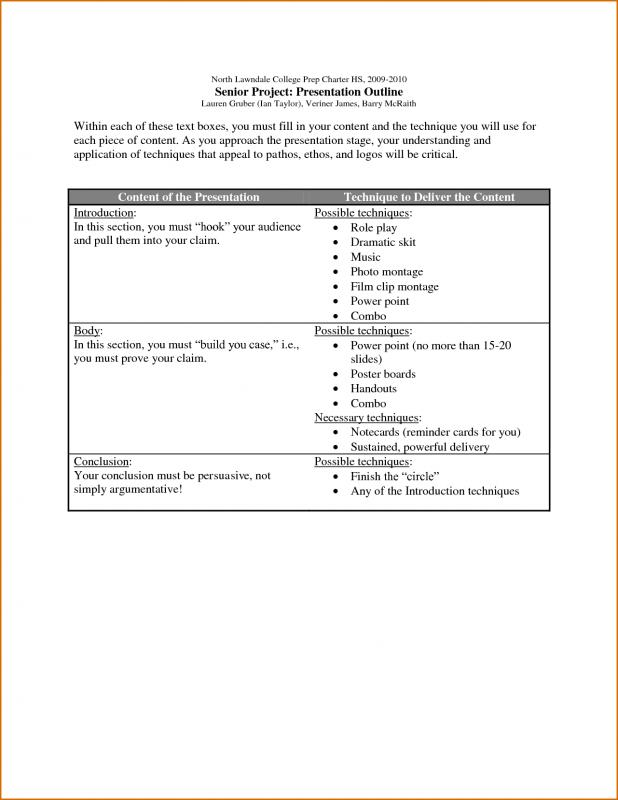 microsoft word outline template