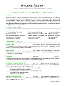 microsoft word template resume marketing communications events coordinator resume