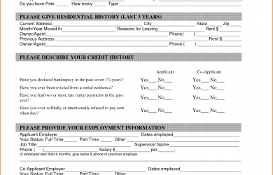 mileage log form apartment rental application form