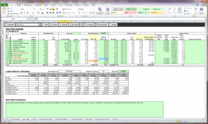 mileage tracker excel rent roll template uw rent roll