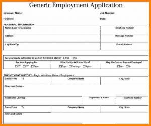 mileage tracker form generic job application pdf genericemploymentapplication