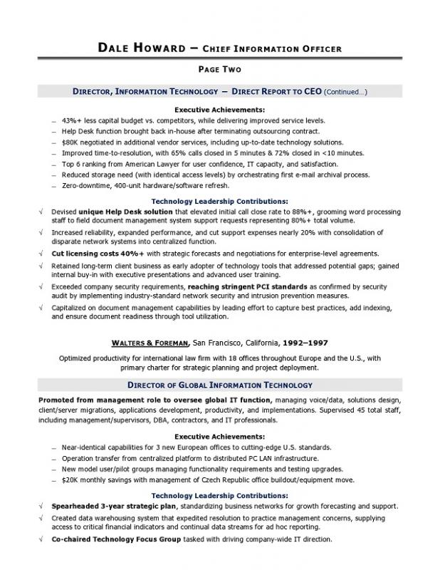 Military Resume Template | Template Business