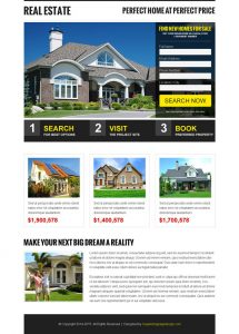 minecraft website template best real estate selling and search landing page design templates to boost your real estate business