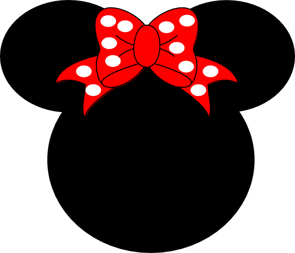 Minnie Mouse Silhouette Template