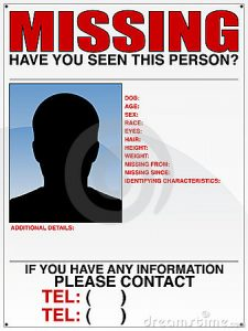 missing poster template missing person poster template