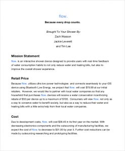 mission statement template retail mission statement template