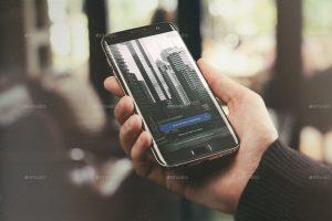 mobile app mockup android app mockup urban edition