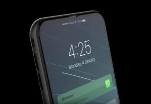 mobile app mockup iphone notification screen mockup