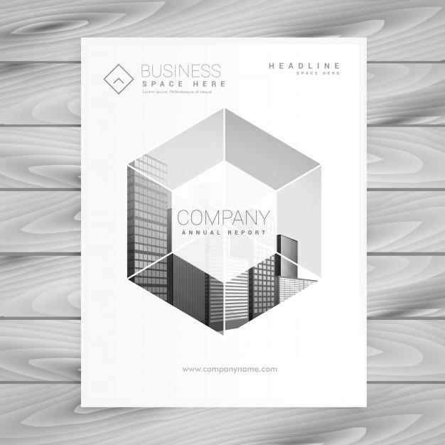modern brochure design