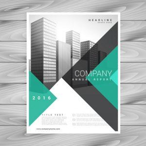 modern brochure design moderno business brochure aziendale con forme geometriche astratte