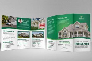 modern brochure designs property sale trifold brochure by jabinhossain dudvs