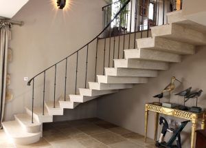 modern brochure designs stone staircase thomas