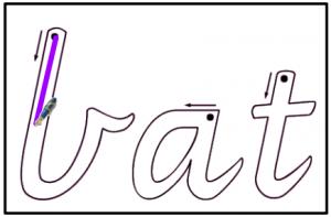 modern cursive font victorian modern cursive font
