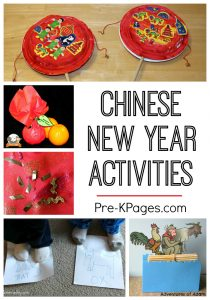 montessori lesson plans chinese new year collage pinterest