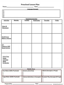 montessori lesson plans dcaceeaabcbbbcfc pre school lesson plans blank lesson plan template