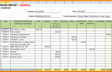 monthly bill template excel expense report template expense template