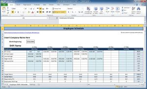 monthly employee schedule template excel work schedule template excel employee schedule template wsvkun