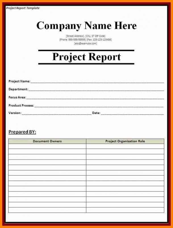 Monthly Expense Report Template | Template Business