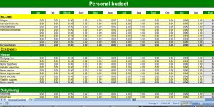 monthly household budget template budgetpic