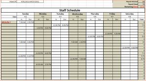 monthly schedule template excel monthly schedule template excel