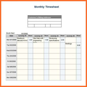 monthly timesheet template excel timesheet template excel monthly timesheet template excel free download