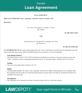 mortgage promissory note sample loan agreement
