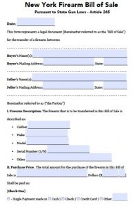 motorcycle bill of sale form new york firearm bill of sale form x
