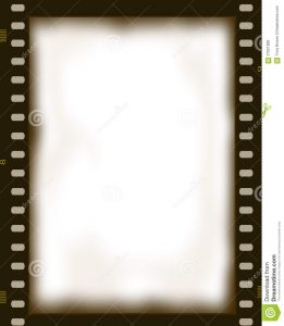 movie poster template free film negative photo frame illustration transparent created photoshop