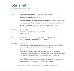 ms word resumes free resume templates word mykmbm