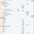 multi step income statement multi step income statement example huntercompany