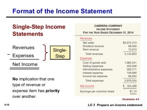 multiple step income statements chapter intermediate ed