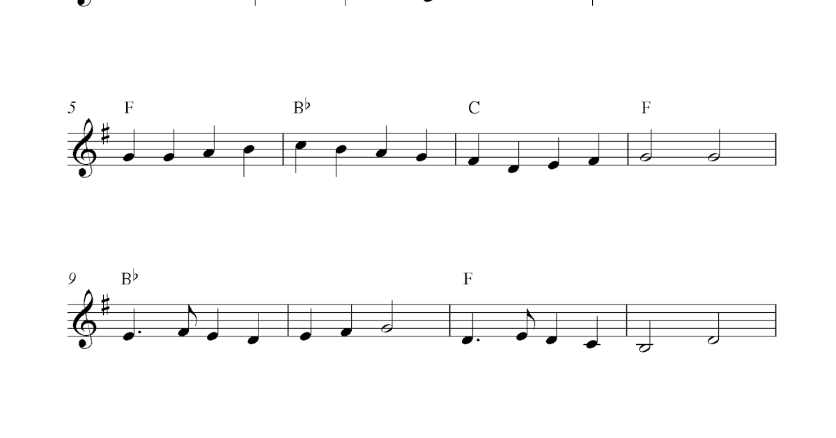 Music Notes Template | Template Business
