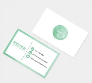 name card template graphic name card design illustration download