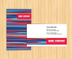 name card template name card sample