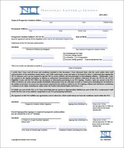 national letter of intent download national letter of intent form pdf example