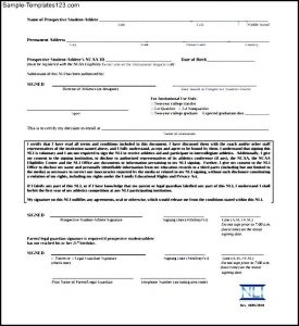 national letter of intent ncaa eligibility national letter of intent download