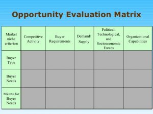 needs assessment example opportunity analysis ppt mba bec doms