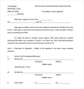 net terms agreement template application proposal form for star personal loan word document