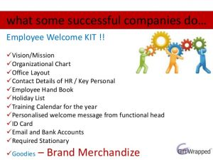 new employee checklist employee welcome kit corporate gifts