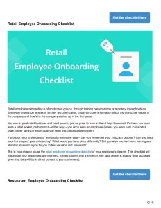 new employee onboarding checklist checklists to perfect your new employee onboarding process