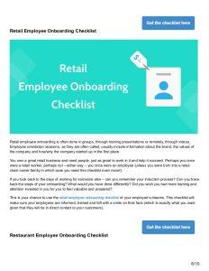 new employee onboarding checklist checklists to perfect your new employee onboarding process