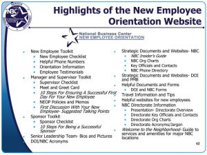 new employee welcome email highlights of the new employee orientation website n