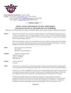 news release format sample press release for phoenix suns