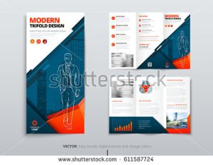 news release template stock vector tri fold brochure design dl corporate business template for try fold brochure or flyer layout