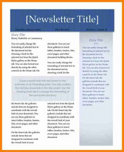 newsletter templates word free word newsletter templates 593728 newsletter templates word