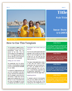 newsletter templates word newsletter template word 01