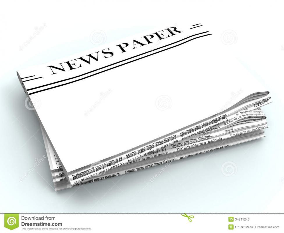Newspaper Headline Template  Template Business